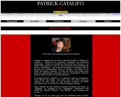 Biographie Patrick