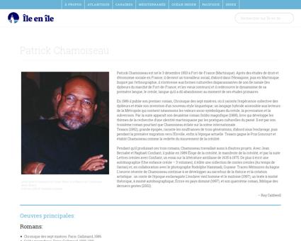 Chamoiseau Patrick