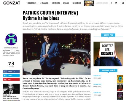 Patrick coutin interview rythme haine bl Patrick