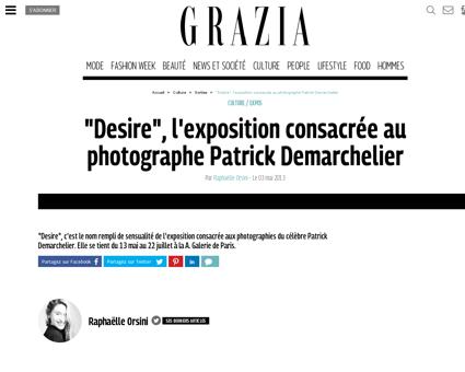 Desire l exposition consacree au photogr Patrick