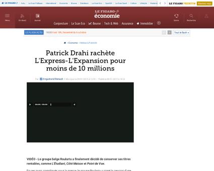 20004 20150108ARTFIG00287 patrick drahi  Patrick
