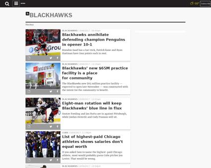 Blackhawks season over after painful ot  Patrick