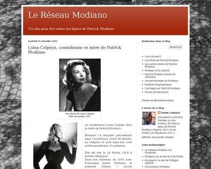Lereseaumodiano.blogspot.com Patrick