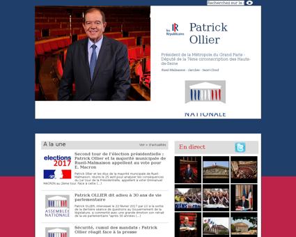 patrick ollier.com Patrick
