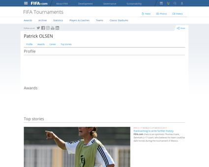 LBaseplayerInfo x?playerid=6769# Patrick