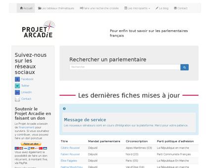 Projetarcadie.com Patrick