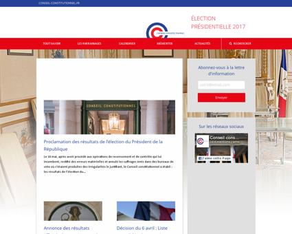 Presidentielle2017.conseil constitutionn Patrick