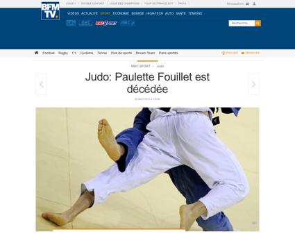 Judo paulette fouillet est decedee 90413 Paulette