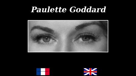 paulette goddard.fr Paulette
