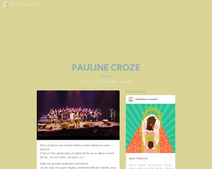 paulinecroze.fr Pauline