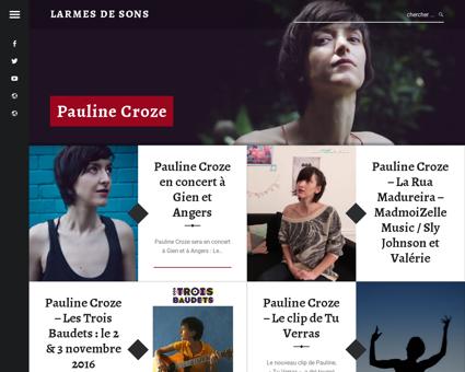 larmesdesons.net Pauline