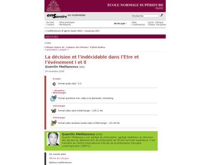 Index?res=conf&idconf=1566 Quentin
