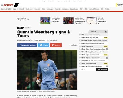 Quentin WESTBERG
