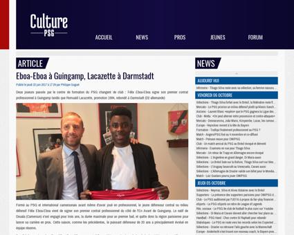 culturepsg.com' Romuald