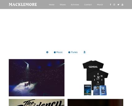 macklemore.com Ryan