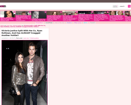 2013 12 10 victoria justice breaks up ry Ryan