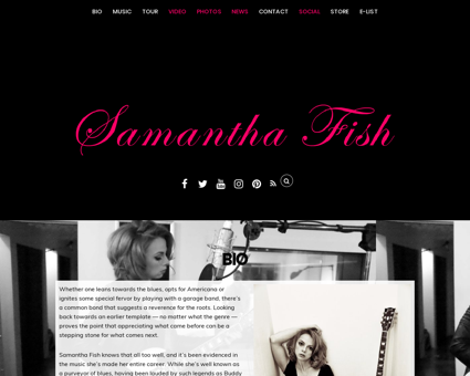 samanthafish.com Samantha
