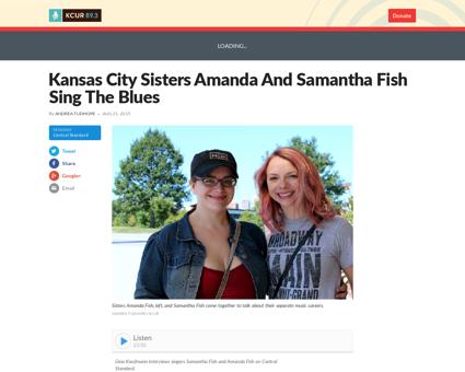 Kansas city sisters amanda and samantha  Samantha