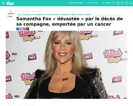 samfox.com Samantha