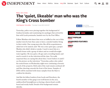 The quiet likeable man who was the kings Samantha