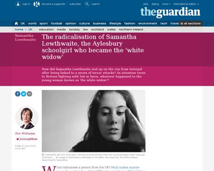 What radicalised samantha lewthwaite 77  Samantha