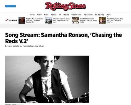 Song stream samantha ronson chasing the  Samantha