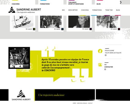 sandrine aubert.fr Sandrine