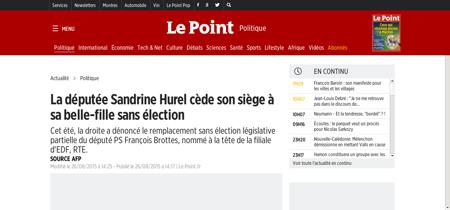 Sandrine HUREL