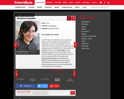 Sandrine MAZETIER
