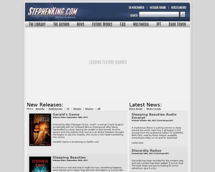 stephenking.com Stephen