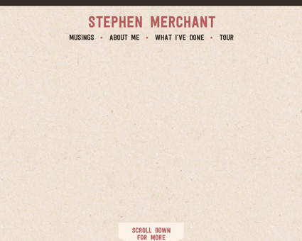 stephenmerchant.com Stephen