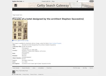 Search.getty.edu Stephen