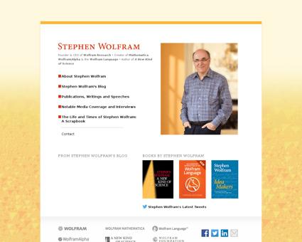 stephenwolfram.com Stephen