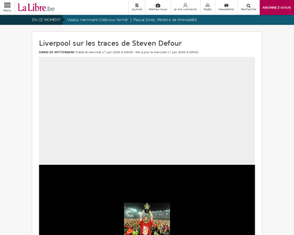 Steven DEFOUR
