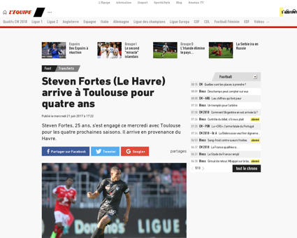 Steven FORTES