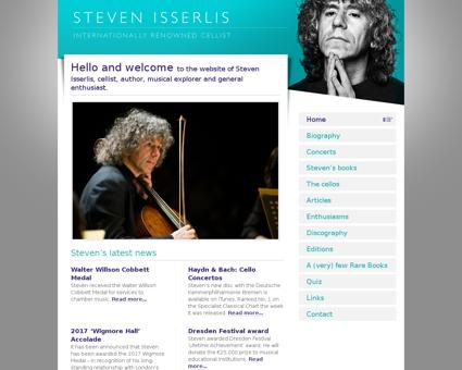 stevenisserlis.com Steven