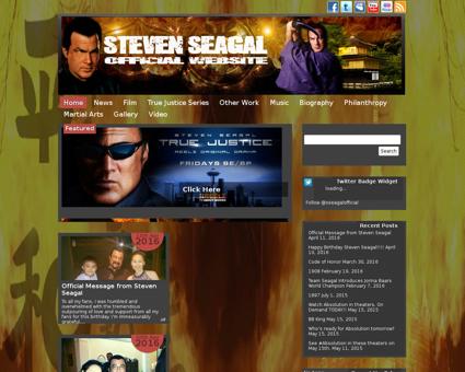 Stevenseagal.com Steven