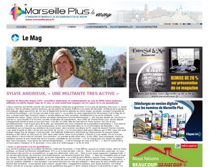 Marseille la deputee sylvie andrieux con Sylvie