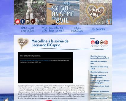Marcelline soiree leonardo dicaprio Sylvie