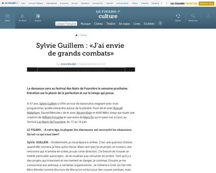 03004 20120608ARTFIG00386 sylvie guillem Sylvie