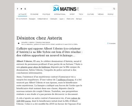 Desintox chez asterix 38755 Sylvie