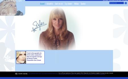 sylvie vartan.com Sylvie