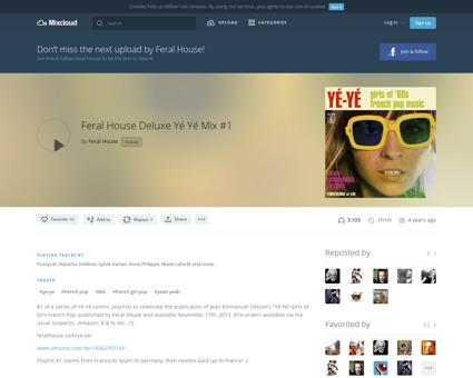 Feral house deluxe y%C3%A9 y%C3%A9 mix 1 Sylvie