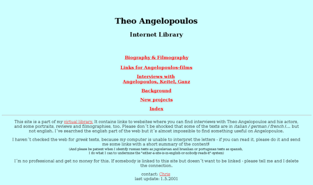 Theo Angelopoulos Theo