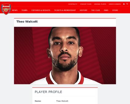 Theo walcott Theo