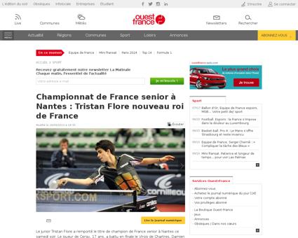 506 tristan flore champion de france jun Tristan