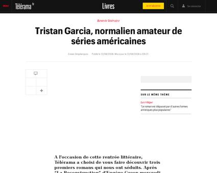 Tristan GARCIA