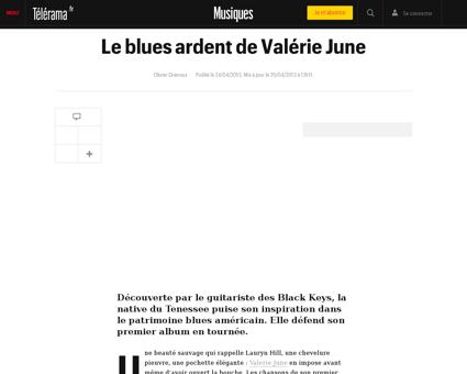 Le blues ardent de valerie june,96321 Valerie