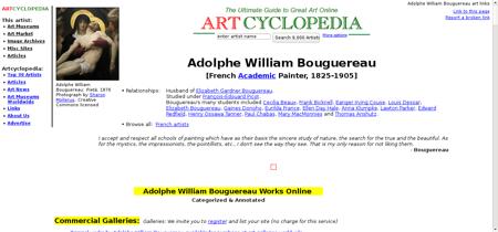 Bouguereau adolphe william William