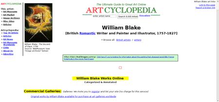 Blake william William